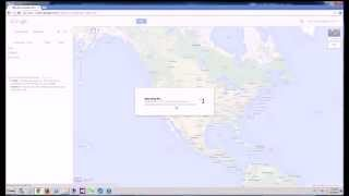 Google Maps - How to Import KML File into New Google Maps Free HD Video