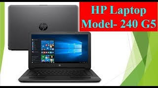 HP 240 G5 Laptop Unboxing and Review HP 240 G5