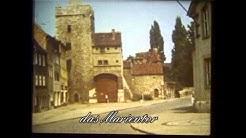 Naumburg   Saale, Stadtansichten von 1978 u  1979 mit der Schmalfilmkamera