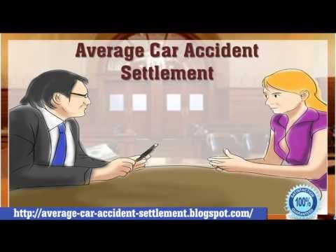 Average Car Accident Settlement