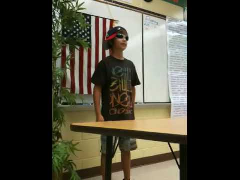 5th grade presidential campaign speech - YouTube