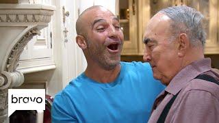 RHONJ: Teresa Giudice And Joe Gorga's Dad Is Not Happy With His Son (Season 9, Episode 1) | Bravo