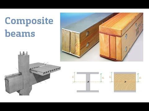 Lec13, Composite beams (Lecture part 1, how to transform section)
