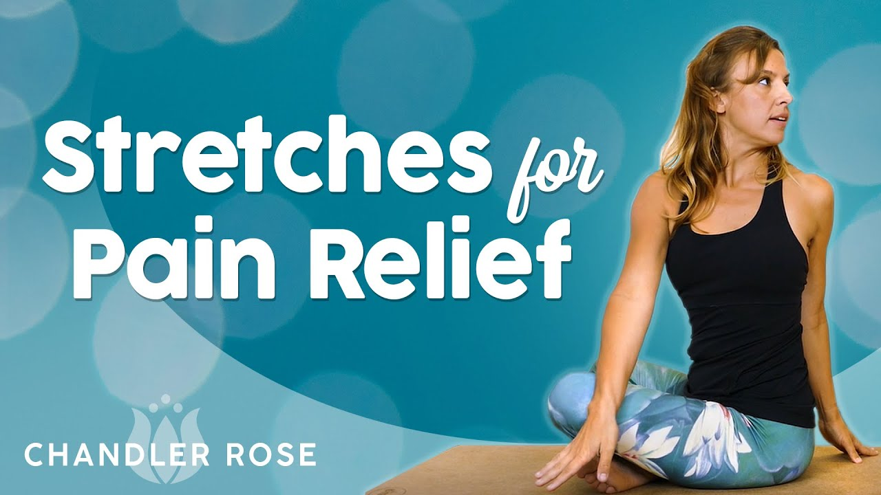 Pain Relief Stretches for the Inflexible ♥ At Home Stretch Routine, 20 Minutes, Beginners, Stress