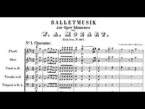 Mozart - Idomeneo, Ballet Music K. 367 (1781)