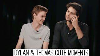 Dylan O'Brien & Thomas Sangster | Funny Moments