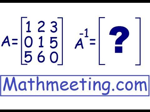 Inverse of 3x3 matrix