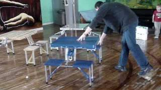 Video Folding Table Excelente For Outdoors Activities