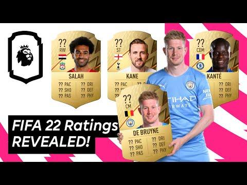 FIFA 22 Ratings