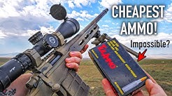 Cheapest .308 Ammo from Walmart Long Range Challenge! (Crazy!)