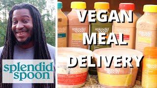 He tried HEALTHY VEGAN MEAL DELIVERY! | Updated Splendid Spoon Taste Test + Review
