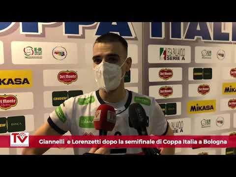 Giannelli e Lorenzetti dopo la semifinale di Coppa Italia a Bologna