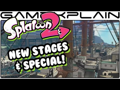 Splatoon 2 - Manta Maria Stage, Bubble Blower Special, & More Announced