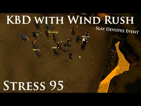 [RS] Stress 95 - KBD with Wind Rush (Slay Devotee Event)