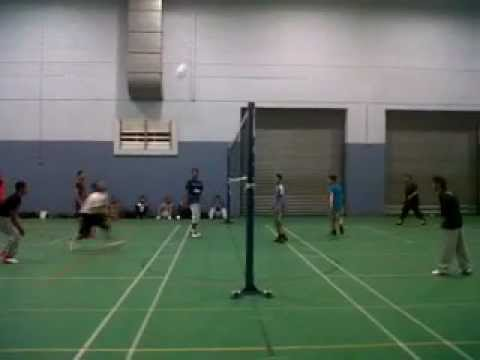 Volleyball Practice Session