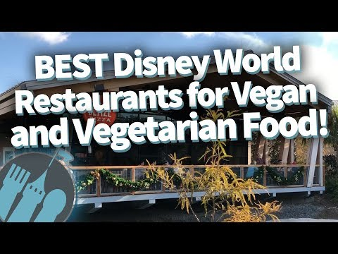 BEST Disney World Restaurants for Vegan and Vegetarian Food!