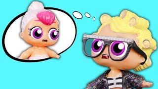 МАЛЕНЬКАЯ УЧИТЕЛЬНИЦА Мультик про Куклы Лол Сюрприз Игрушки для девочек #Лолошкола