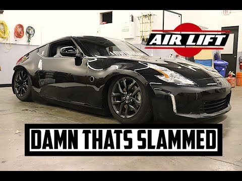 THE 370Z IS OFFICIALLY ON AIR RIDE!!!
