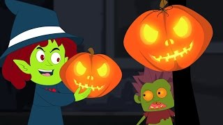 Jack O Linterna | Halloween Canción | Jack O Lantern | Scary Song | Halloween Song For Kids