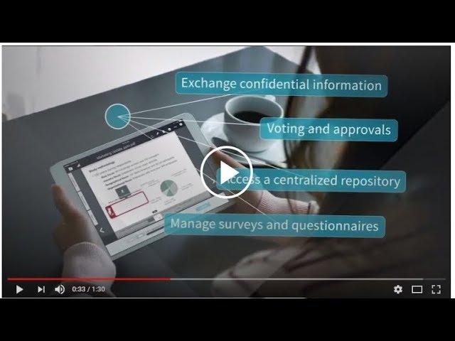 Nasdaq Boardvantage board management software