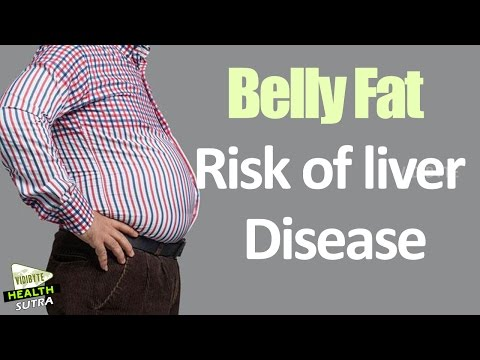 Belly Fat Increases Risk of Liver Disease || Health Tips
