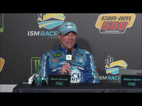 2018 NASCAR Phoenix Monster Cup post-race Q&A