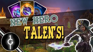 Vainglory New Hero Anka All Rare, Epic, and  Legendary Talent Gameplay