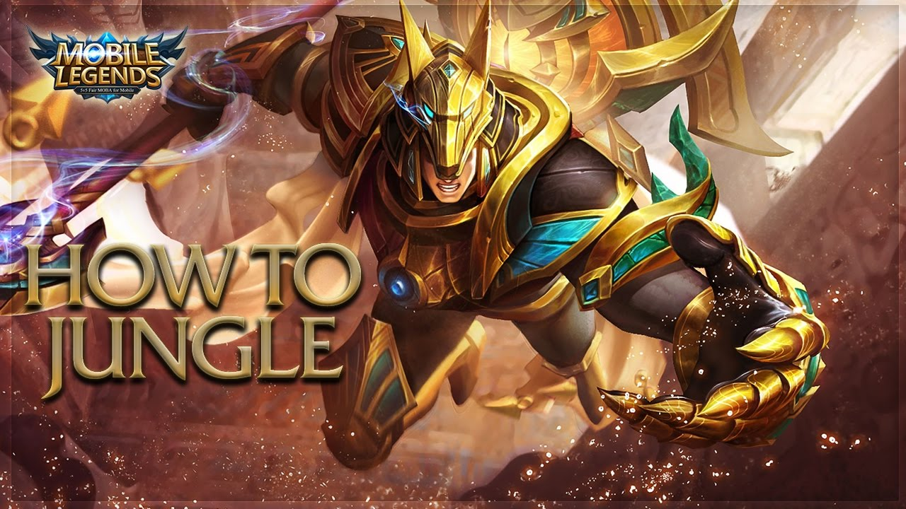 mobile legends: how to play jungle / how to be a jungler