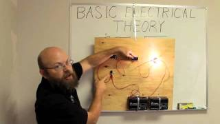 Cambridge Elevating - Basic Electrical Theory Part 1(Cambridge Elevating technician going over basic electrical theory. Visit us at http://cambridgeelevating.com/, 2011-08-05T13:12:01.000Z)