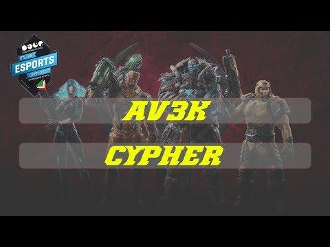 Av3k vs cYpheR | ESL | Italian Open | 2017 | Group B