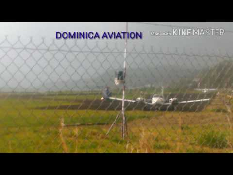 Agusta Westland AW-109SP PP-DSA rainy approach (PRIVATE) @ the Canefield Airport
