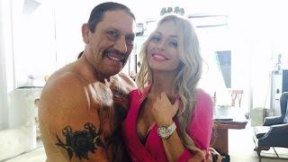 Анна Хилькевич: Вот такой вот партнер по съемкам, горячий мексиканец Дэнни Трехо