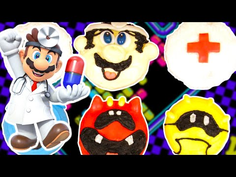 Generate DR MARIO CUPCAKES - NERDY NUMMIES Pictures