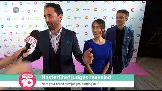 Meet The New 'MasterChef' Judges | Studio 10