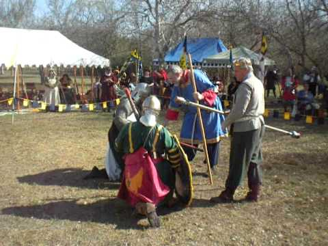 Ansteorra Crown Tourney January 2012: Centurion Wayland vs Sir Rhodri