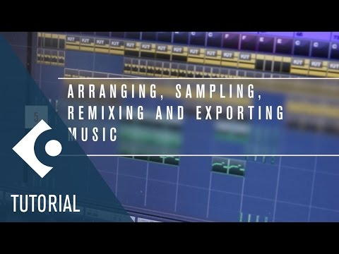 How to Arrange, Sample, Remix and Export a Music Track | Make Music with Cubase Elements