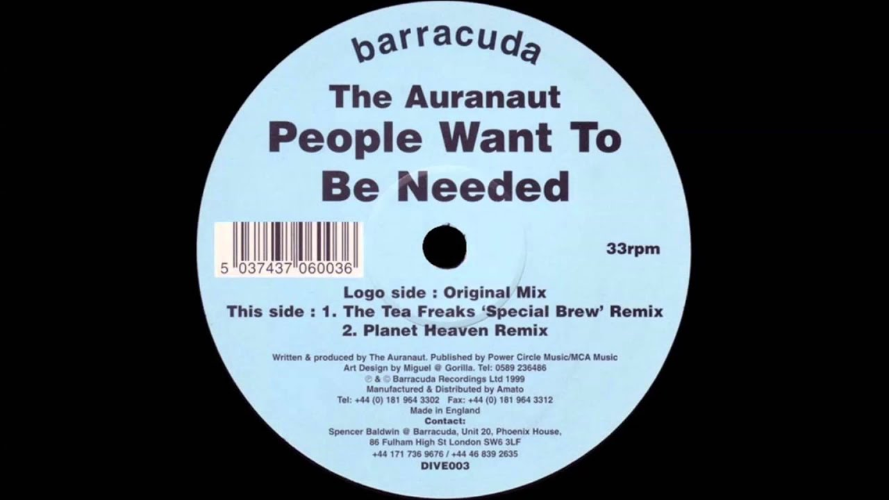People Want To Be Needed - The Auranaut