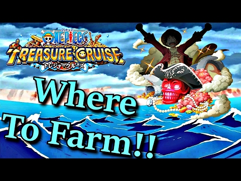 Where To Farm Super Evolution Skulls | One Piece Treasure Cruise