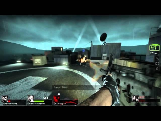 left 4 dead 2 no mercy rooftop finale video, left 4 dead 2 no mercy