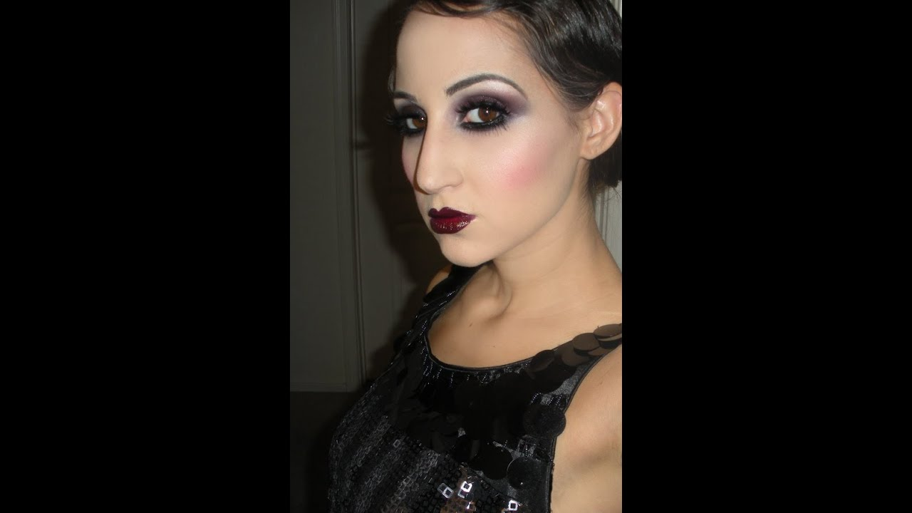 1920s makeup - YouTube