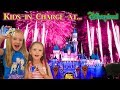 Kids in Charge at Disneyland! Dad Spends $6000! Parents Can't Say No for 24 Hours!!! (FIREWORKS)