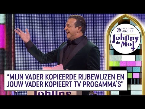 Najib Amhali - Volledige Roast van Johnny de Mol! - THE ROAST OF JOHNNY