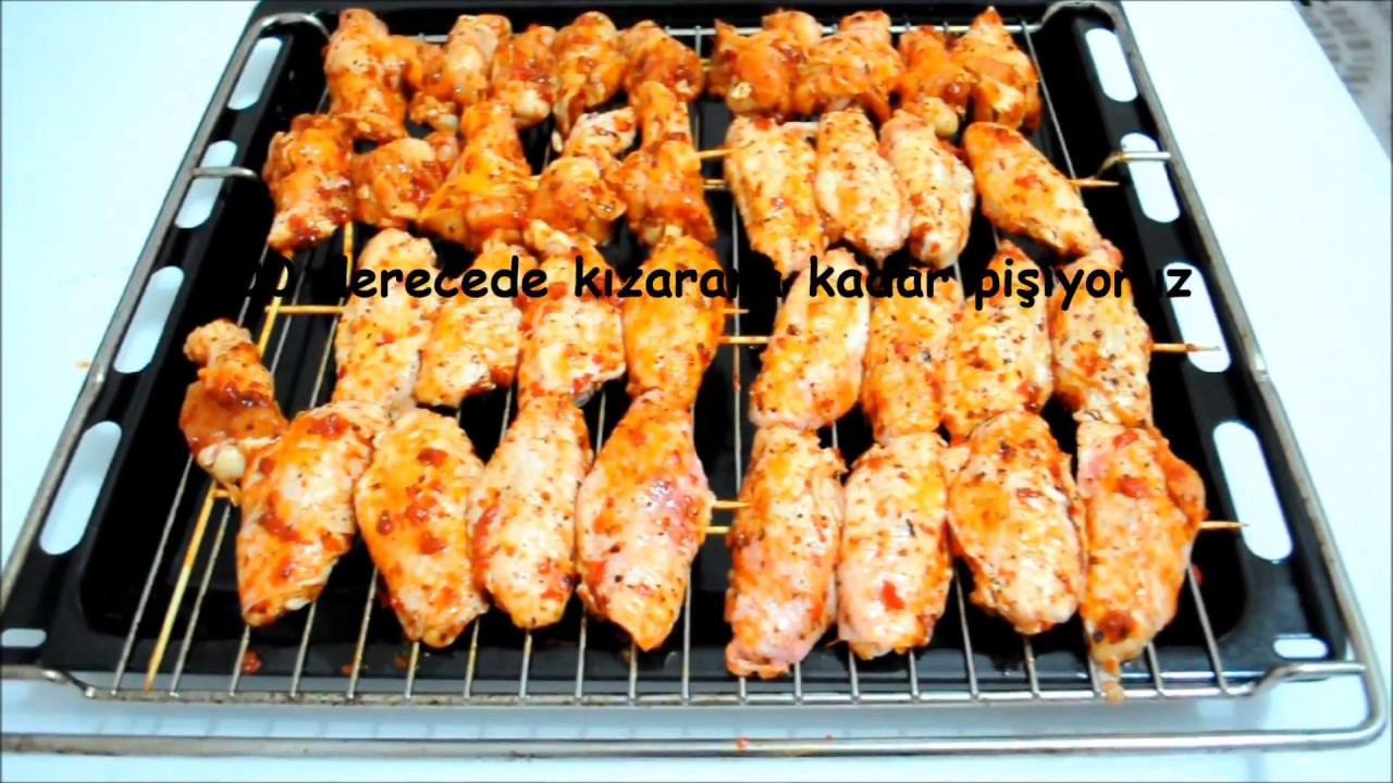 Fırında Tavuk Kanat Tarifi Videosu