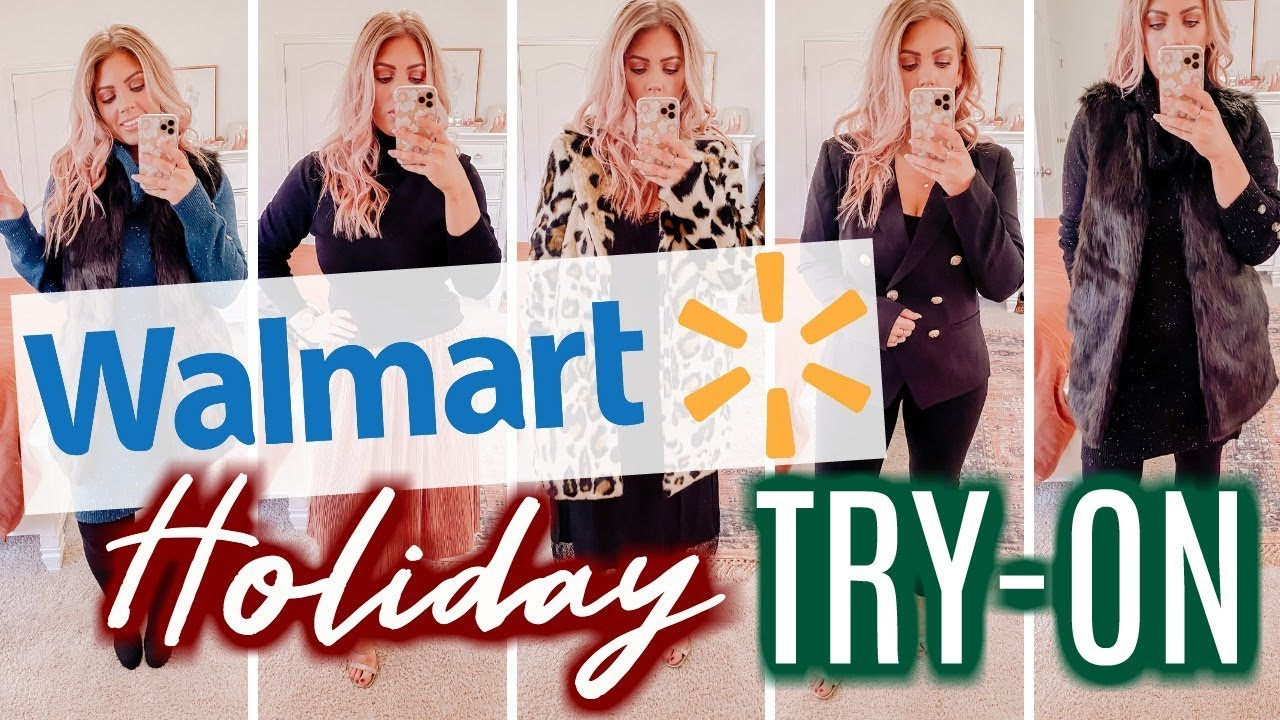[VIDEO] - WALMART HOLIDAY TRY-ON | 8 Outfit Ideas | Winter Fashion 6