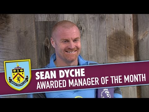 MANAGER OF THE MONTH | Sean Dyche