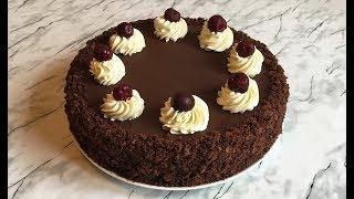 "Торт ""Пьяная Вишня"" / Cherry Cake / Шоколадный Торт / Бисквитный Торт"