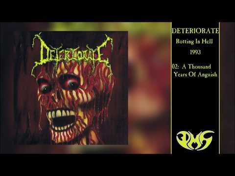 DETERIORATE Rotting In Hell (Full Album) 4K/UHD