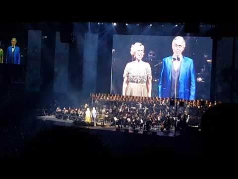 Vanna & Andrea Bocelli - Arena Zagreb 10.03.2018.