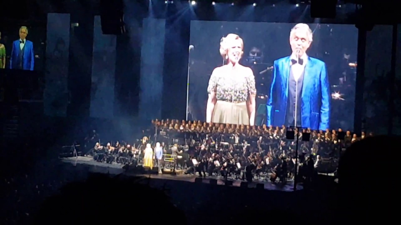 Vanna Andrea Bocelli Arena Zagreb 10 03 2018 Youtube
