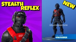 New REFLEX SKIN VARIANT: Stealth Reflex In-Game Fortnite